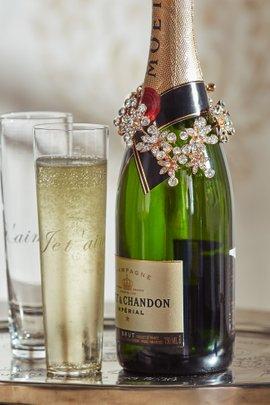 Gatsby Jeweled Bottle Wrap