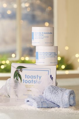 Lather Toasty Tootsies Trio Kit