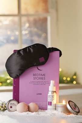 Lather Bedtime Stories Sleep Kit