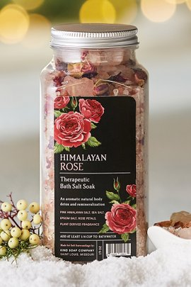 Kind Soap Company Himalayan Rose Bath Salt Soak