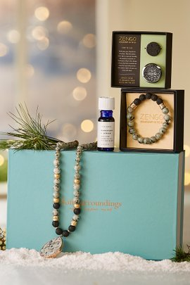 Aromatherapy on the Go Bauble