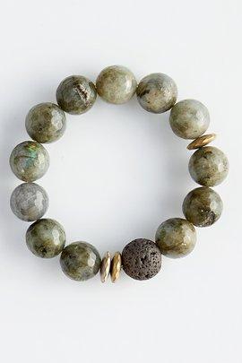 Lava & Gemstone Diffuser Bracelets