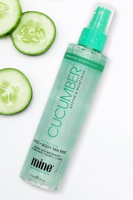Mine Tan Cucumber Hydrating Face & Body Tan Mist