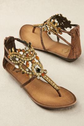 Jeweled Sandals