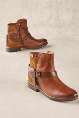Pikolinos Leather Booties
