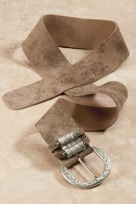 Pueblo Contoured Leather Belt