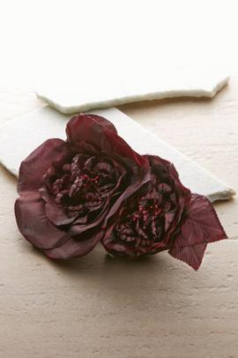 Bordeaux Blooms Pin