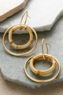 Hana Hoop Earrings