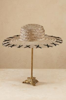 Cross Hatch Wide Brim Hat