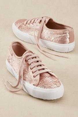 Superga Iridescent Sequin Sneakers