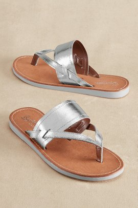 Seychelles Metallic Mosaic Sandals