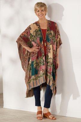 Paisley Patch Kimono
