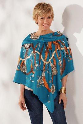 La Fiorentina Handkerchief Poncho
