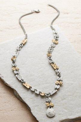 Hammered MM Necklace