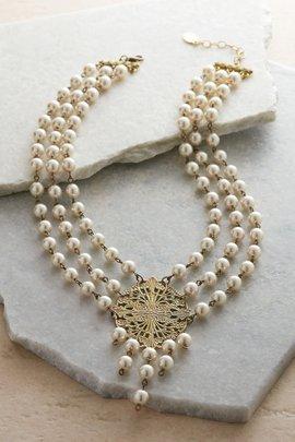 Briar Pearl Bib Necklace