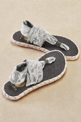 Ganika Velvet Sandals