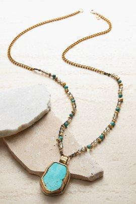 OK Turquoise Necklace