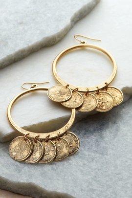 Jingle Jangle Coin Earrings