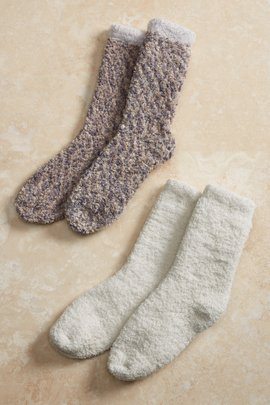 Cozy Bubble Crew Socks 2-Pack