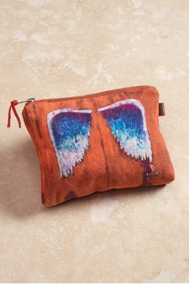Angel Wings Project Large Pouch