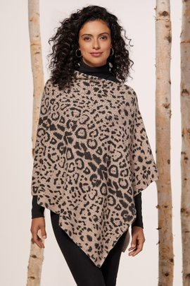 Animal Instincts Poncho