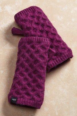 Honeycomb Fingerless Gloves