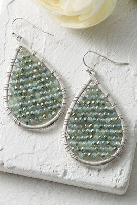 Teardrop Fade Earrings