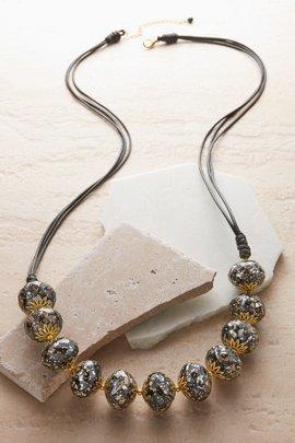 Splatter Sphere Necklace