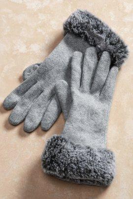 Rachel Faux Fur Gloves