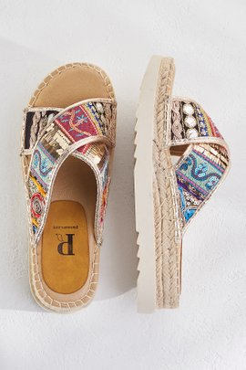 Pia Rossini Slide Sandals