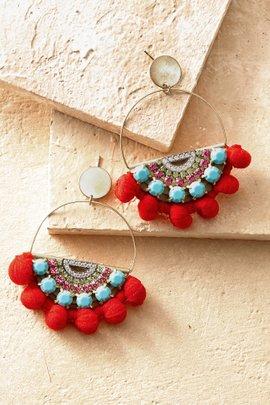 Mosaic Media Earrings