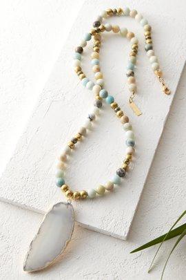 Amazonite Agate Necklace