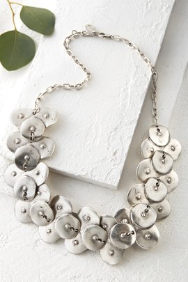 Theia Disc Path Necklace