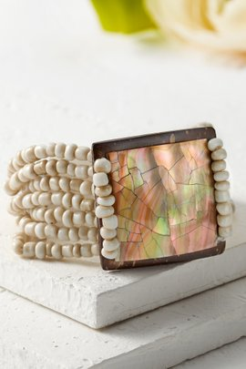 Carp Shell Bracelet