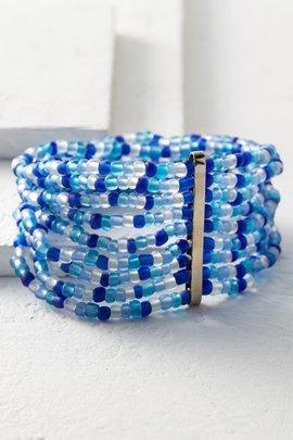 Sea Glass Stretch Bracelet