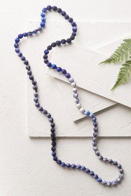 Nico Silk Ball Necklace