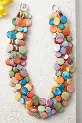 Mother of Pearl 5-Strand Necklace
