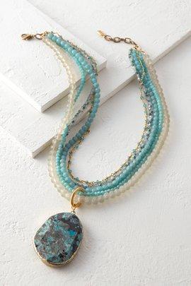 Icebox Turquoise Necklace