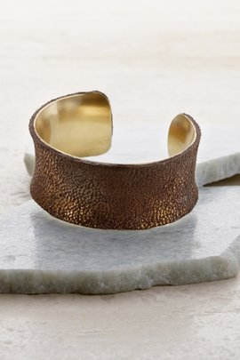 Snakeskin Copper Cuff