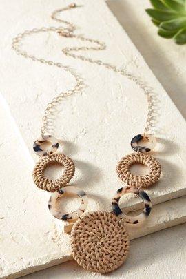 Riley Hoop Necklace