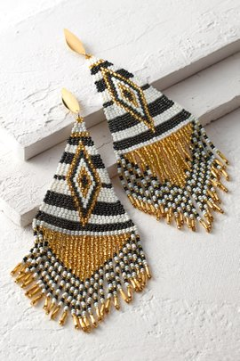 Embera Beaded Earrings