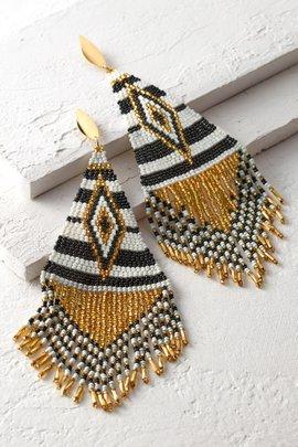 Embera Beaded Earrings