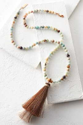 Whitley V-tassel Necklace