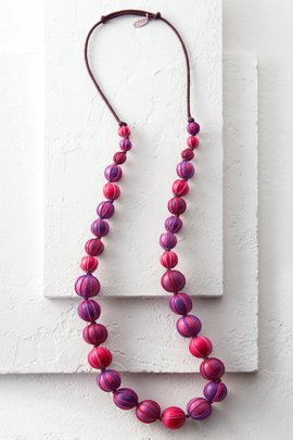 Threaded Ball Necklace