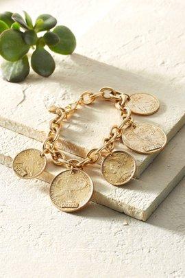 Liberty Coin Bracelet