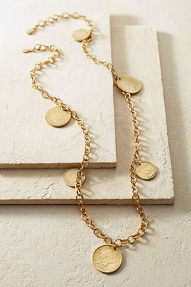 Liberty Multi-Coin Necklace