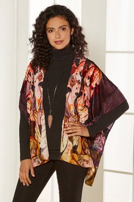Painterly Butterfly Wrap