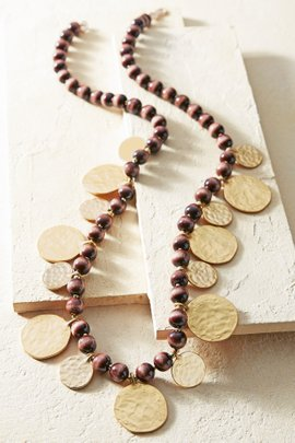 Falling Coins Necklace