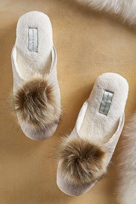 Pretty Pouf Slide Slippers