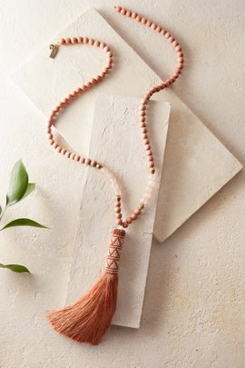 Trixie Tassel Necklace